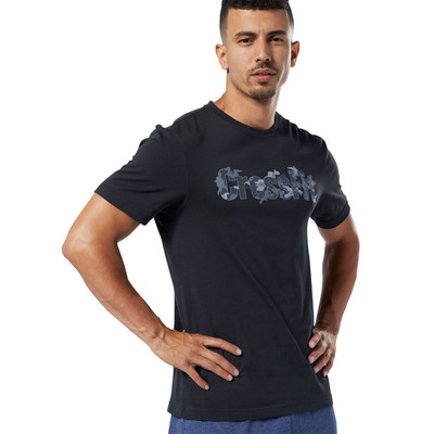Reebok Crossfit Camo Logo T-Shirt - AW19