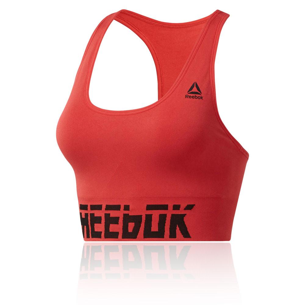 Reebok Meet You There Women's Seamless Padded Bra - AW19