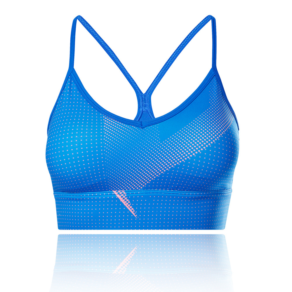 New In Reebok Meet You There AOP Tri-Back Bra - SS21