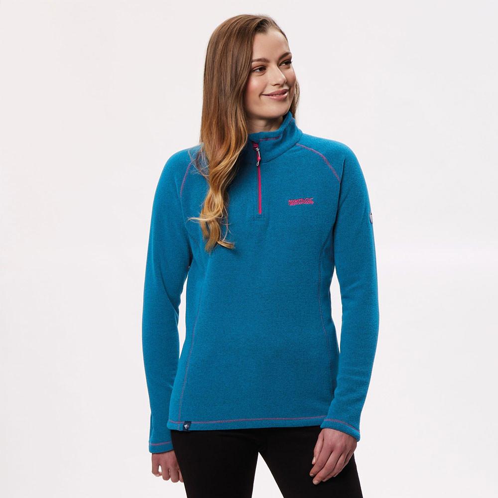 Regatta Kenger Women's Half Zip Fleece Top