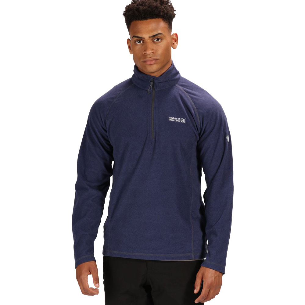Regatta Montes Half Zip Lightweight Fleece Top