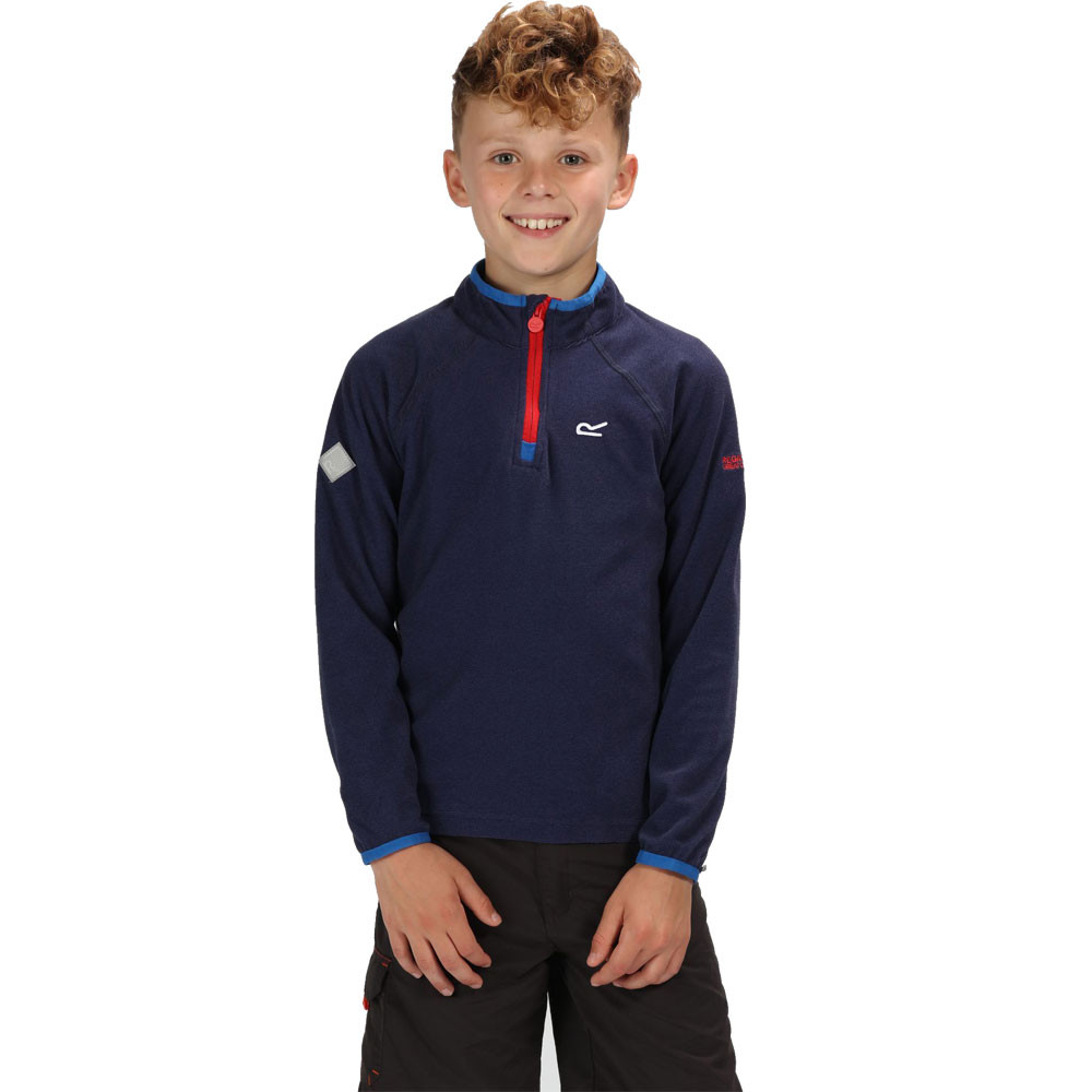 Regatta Loco Half Zip Junior Fleece Top