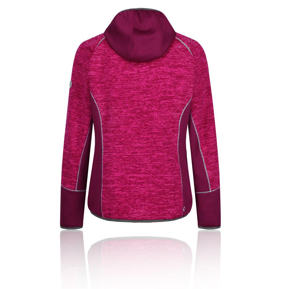 Pink Sports Full Zip Hooded Warm Regatta Womens Willowbrook VI Fleece Top