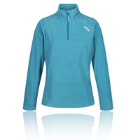 Regatta Mens Unwin Fleece Top Navy Blue Sports Outdoors Half Zip Breathable