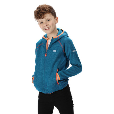 Regatta Dissolver II Junior Hooded Fleece Top - AW19