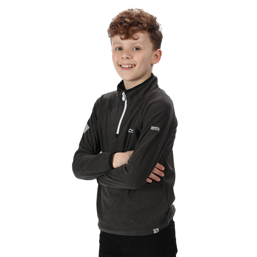 Regatta Unisex Kids Loco Half-zip Long Sleeve Fleece