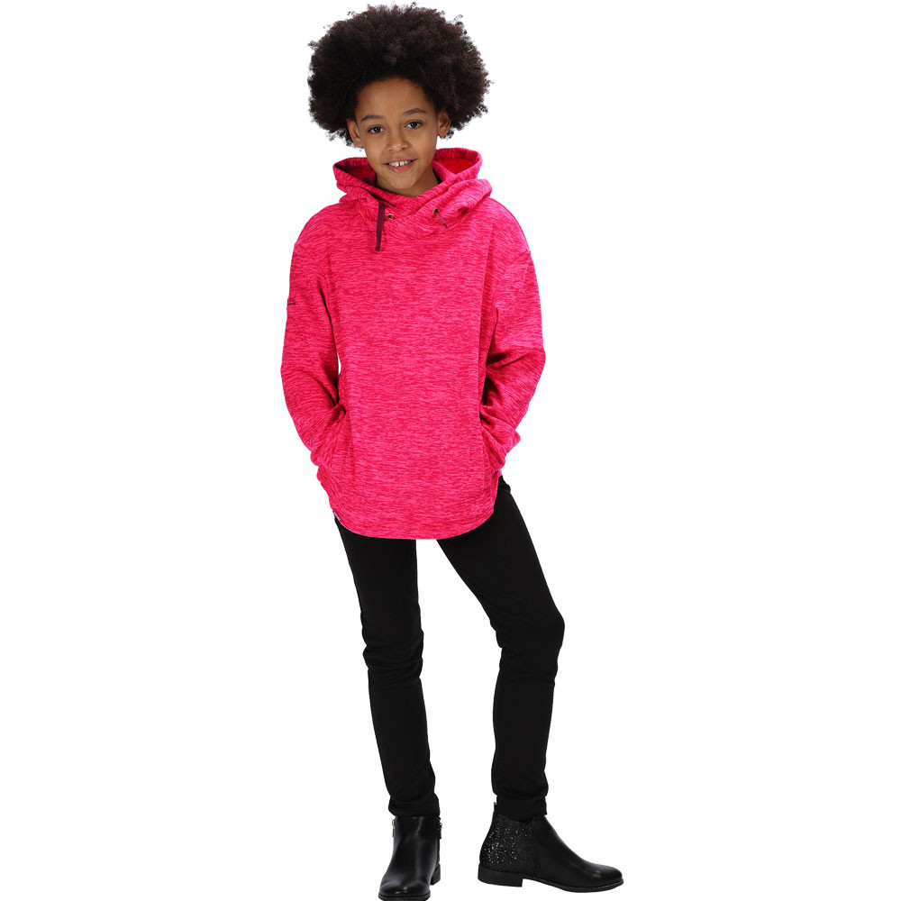 Regatta Kacie Hooded forra polar Junior Top - AW19