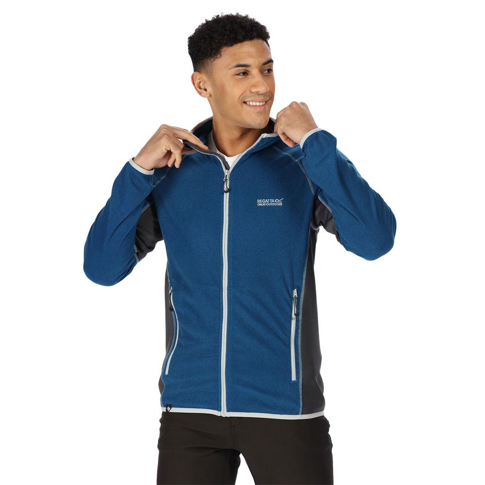 Regatta Mens Mons III Thermal Full Zip MicroFleece Stretch Jacket