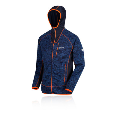 Regatta Cartersville V Full cremallera Hooded forra polar chaqueta