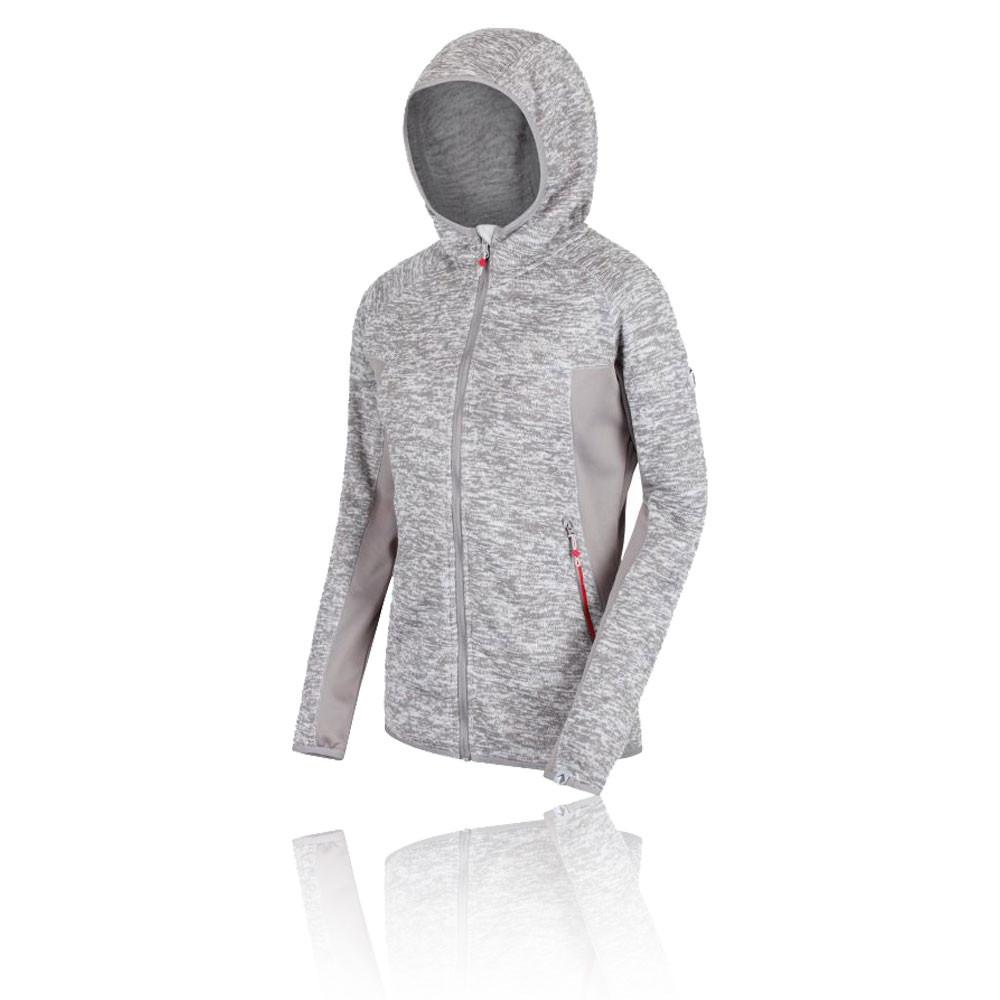 Regatta Willowbrook V Knit Effect Women's Hooded Top