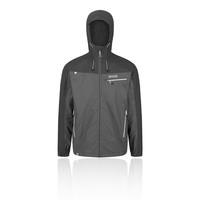 Regatta Mens Cartersville V Full Zip Hooded Fleece Jacket Top Navy Blue Sports