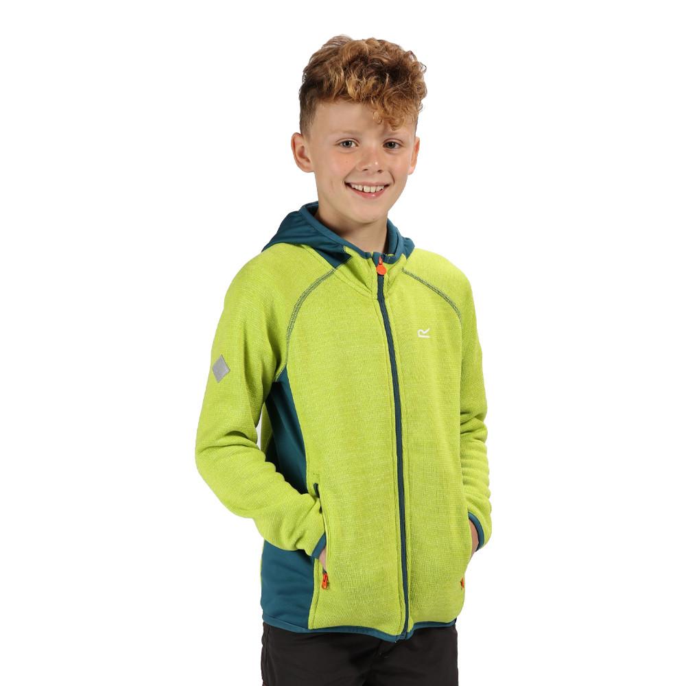 Regatta Dissolver II Junior Hooded chaqueta