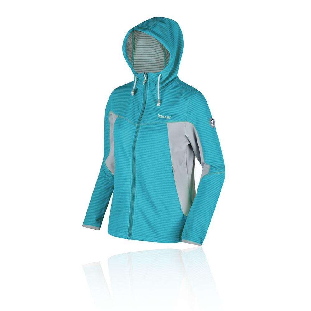 Regatta Tarnis forra polar Hooded para mujer chaqueta