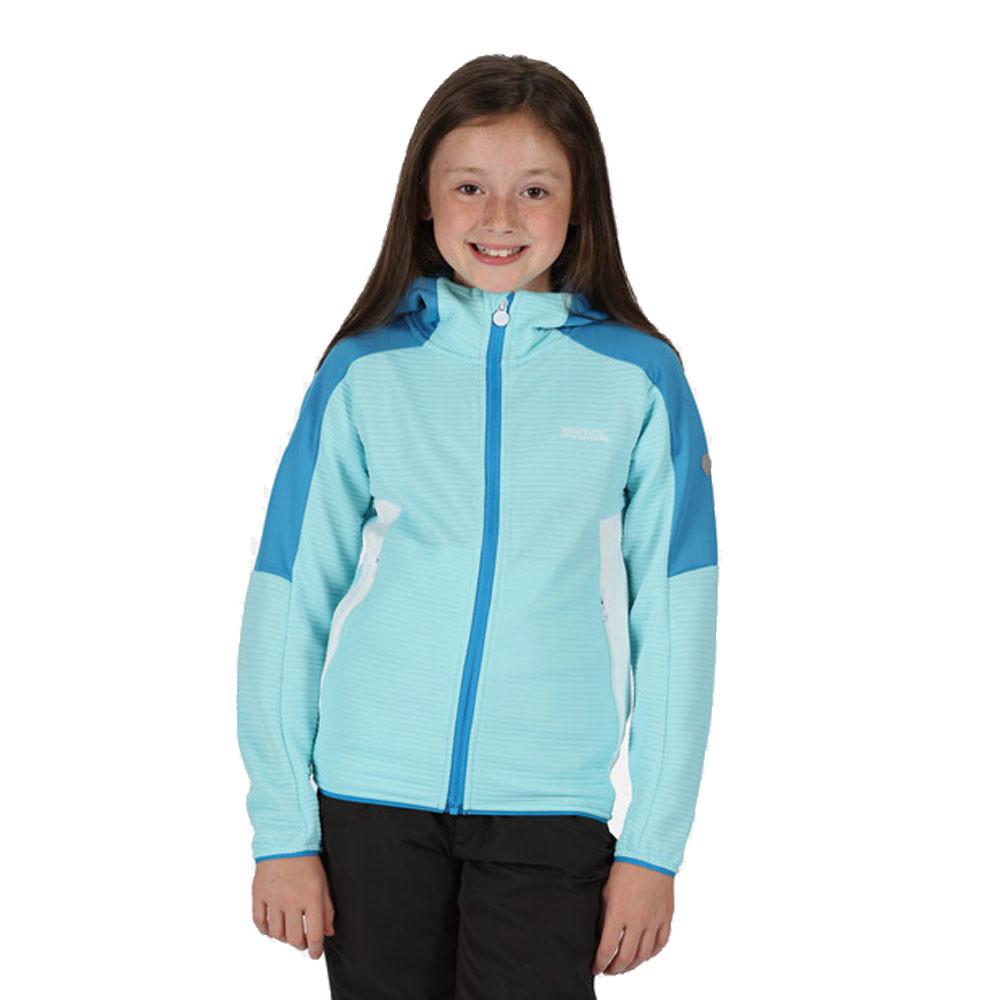 Regatta Jenning II Ribbed Full Zip Junior Hooded Fleece - SS21