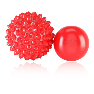 RockTape RockBalls - Twin Pack (10cm Textured / 8cm Smooth) - SS19