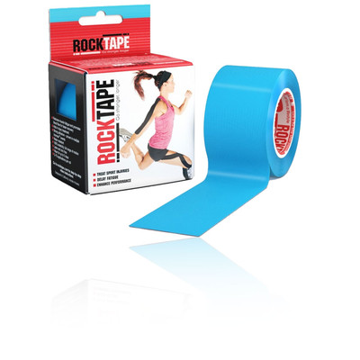 RockTape Electric Blue Kinesiology Tape (5cm x 5m) - SS21