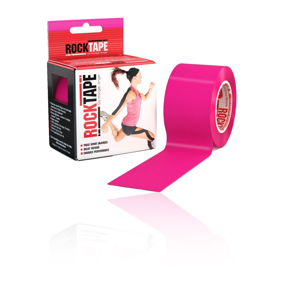 Rocktape Hot Pink Kinesiology Tape (5CM x 5M) - AW20