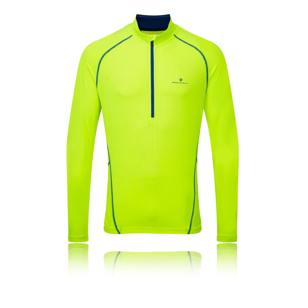 Ronhill Vizion Thermal 200 1/2 cremallera camiseta running - AW15