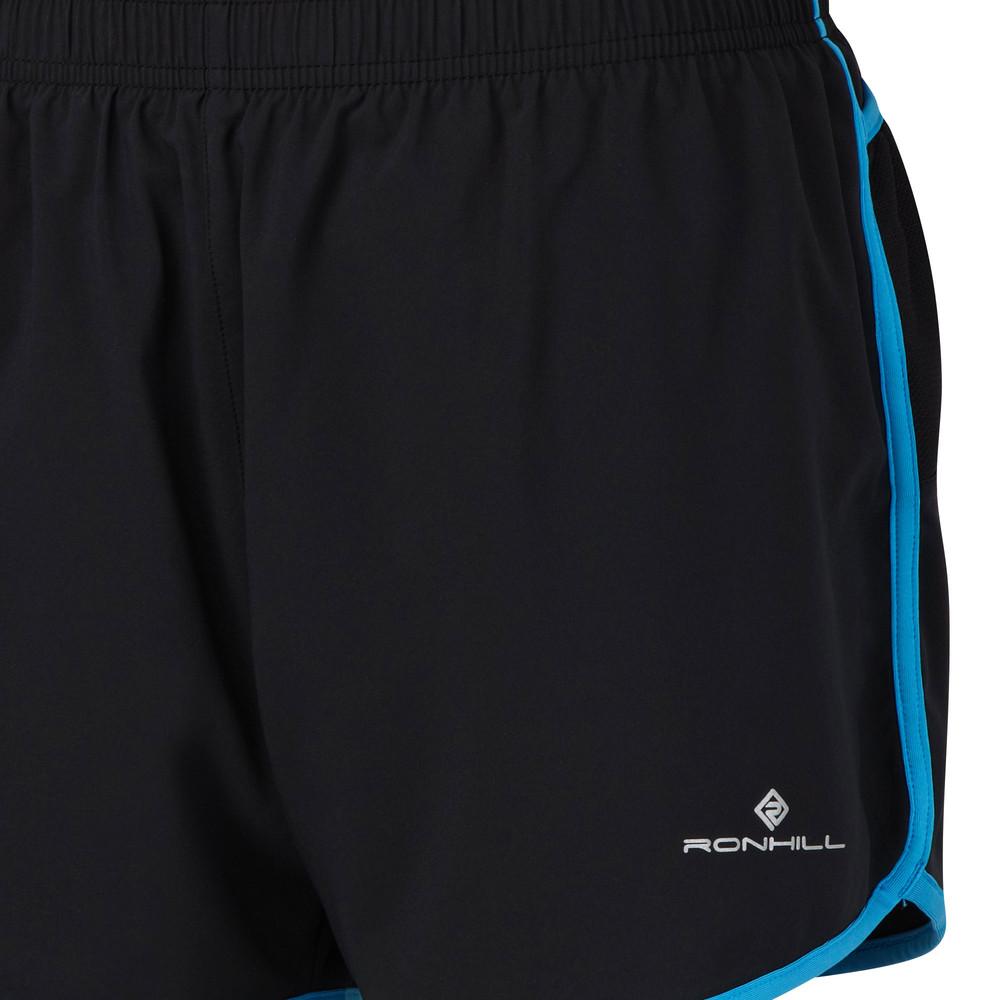 8966063b71 Ronhill Cargo Mujer Azul Negro Flexlite Camino Running Shorts Pantalones  Cortos
