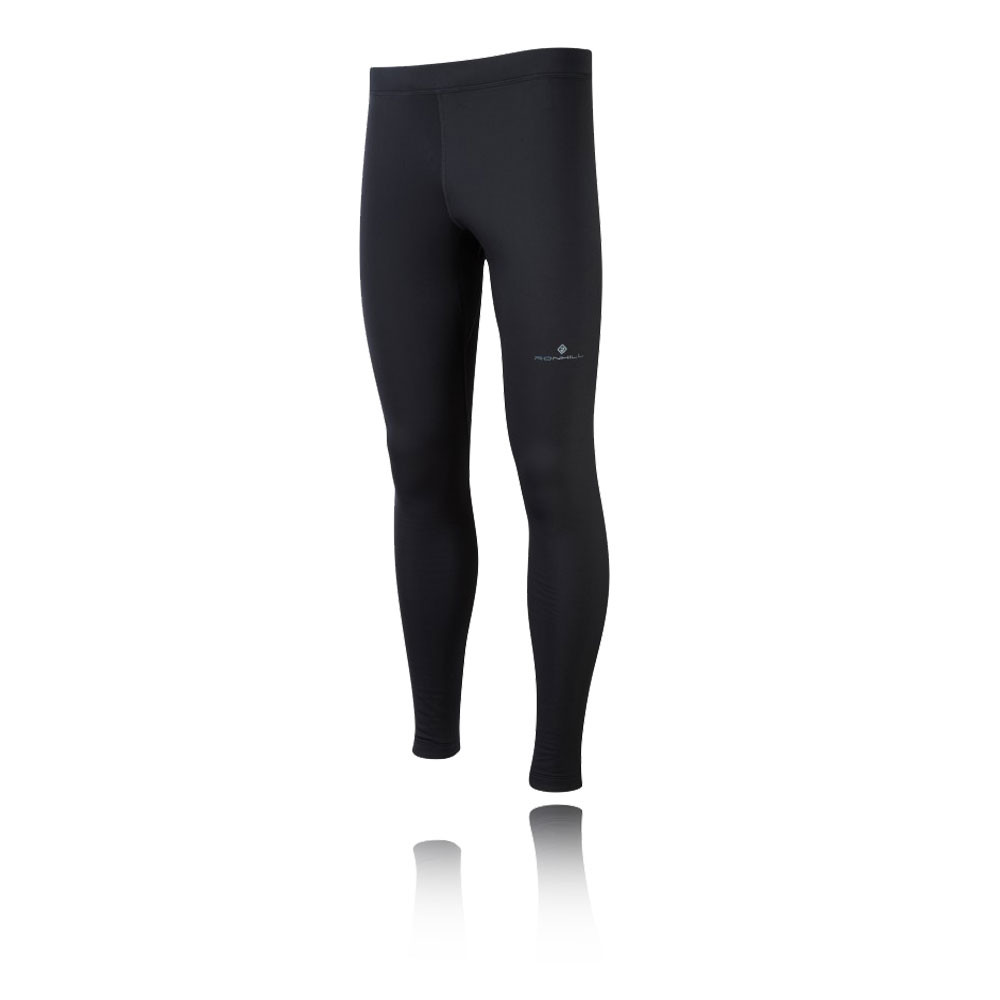 Image is loading Ronhill-Trail-Blizzard-Mens-Black-Running-Fitness-Tights-