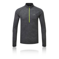 Ronhill Infinity Merino manches longues 1/2 zip Top - AW18