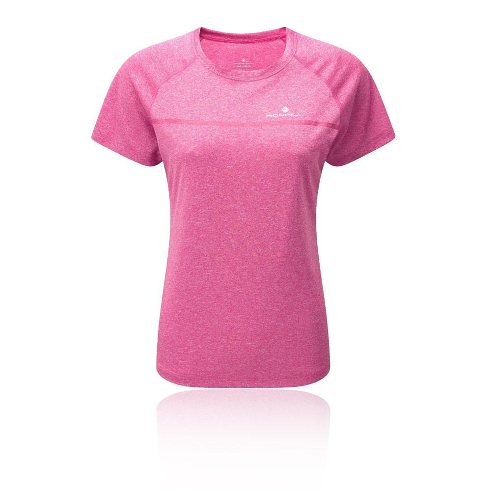 2576c6541d846c RonHill Womens Everyday Short Sleeve T Shirt Tee Top Pink Gym Sports Running