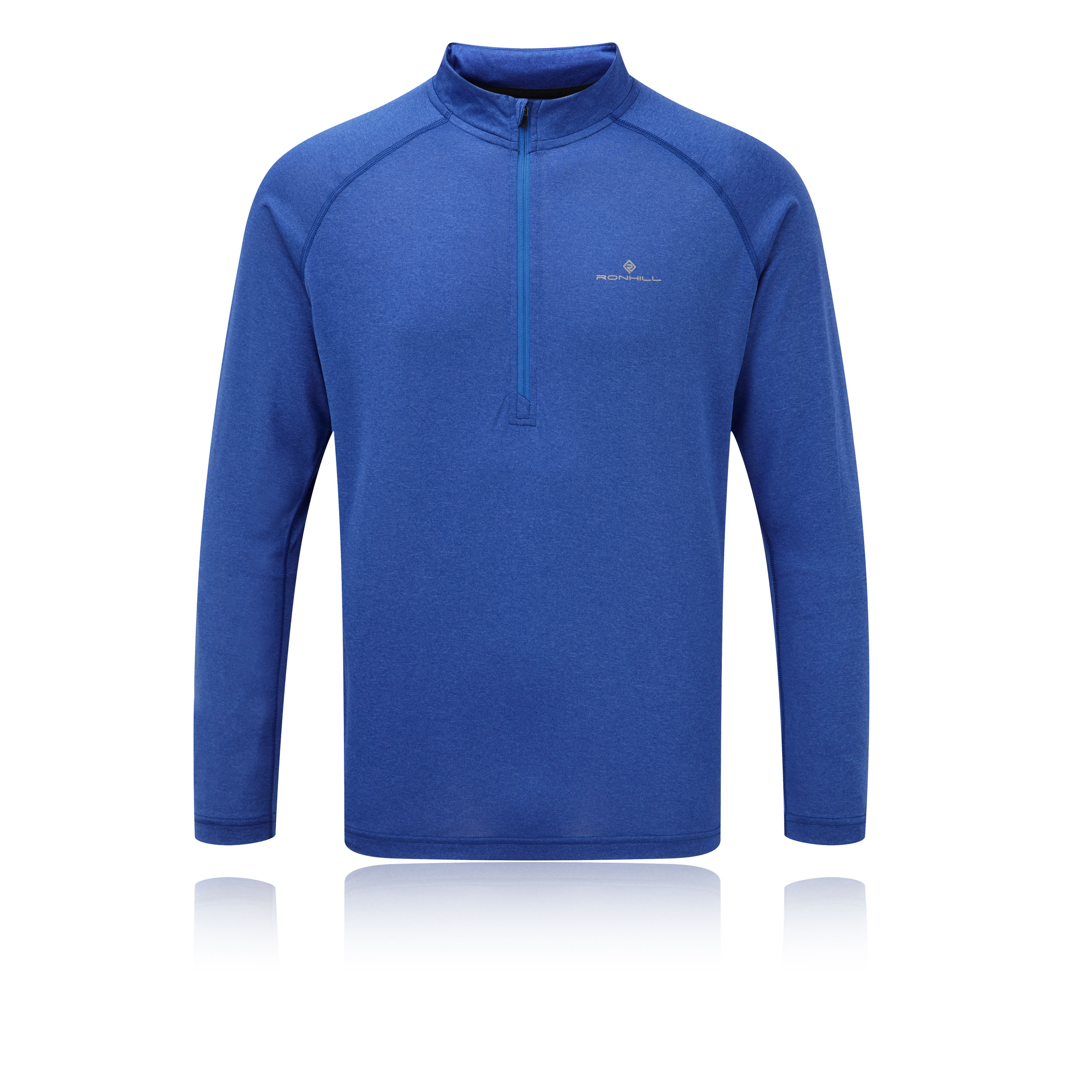 Men's Clothing Ronhill Everyday Half Zip Long Sleeve Mens Running Top Blue Clothing, Shoes & Accessories