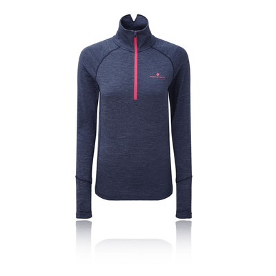 Ronhill Stride Thermal Long Sleeved Women's Zip Top