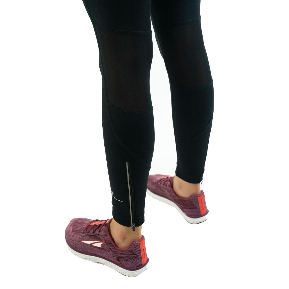 Haut femme RonHill Stride stretch Collants Pantalon Pantalon-Noir Sport