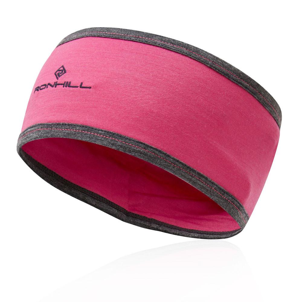 Ronhill Da Donna Merino Hat Cap Rosa Sport Running traspirante leggera