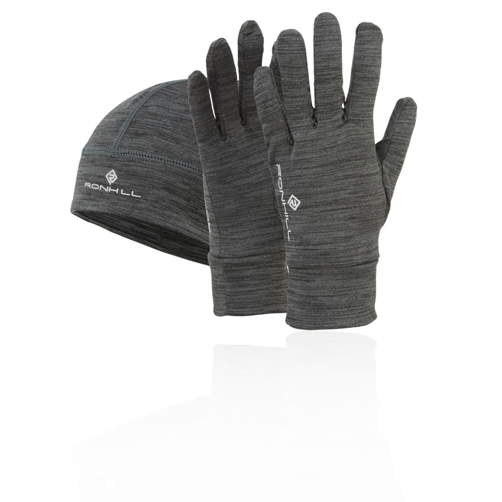 Ronhill Marl Beanie and Glove Set