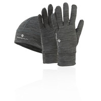 Ronhill Marl Beanie and Glove Set - AW18