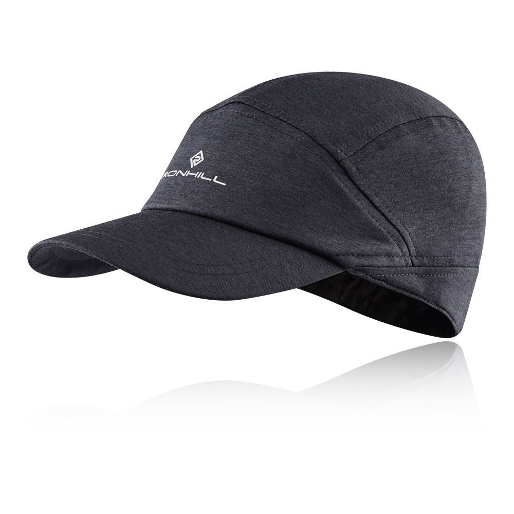 a87a1d20f3773 Details about RonHill Unisex Workout Cap Grey Sports Running