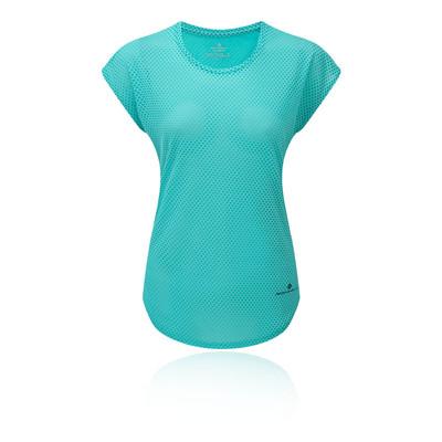 Ronhill Momentum Deluxe manica corta per donna T-Shirt