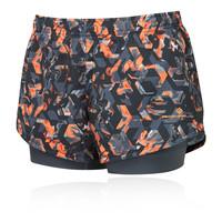 Ronhill Momentum para mujer Twin pantalones cortos - SS19