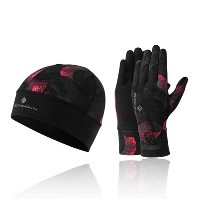 Ronhill Contour gorro And guante Set - AW19