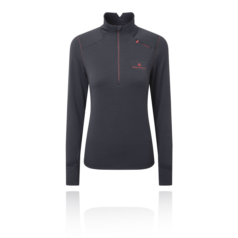 Ronhill Stride Matrix femmes demi zip T-Shirt - AW19