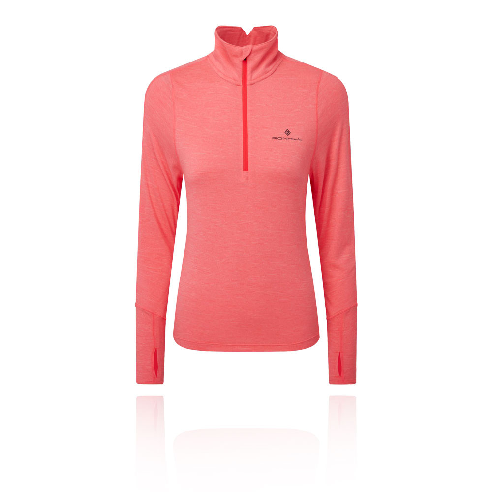 Ronhill Stride Thermal Women's 1/2 Zip T-Shirt - AW19