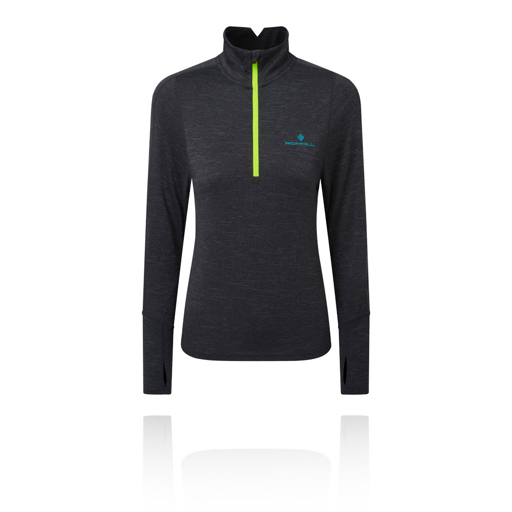 Ronhill Stride Thermal Women's Half Zip T-Shirt - AW19