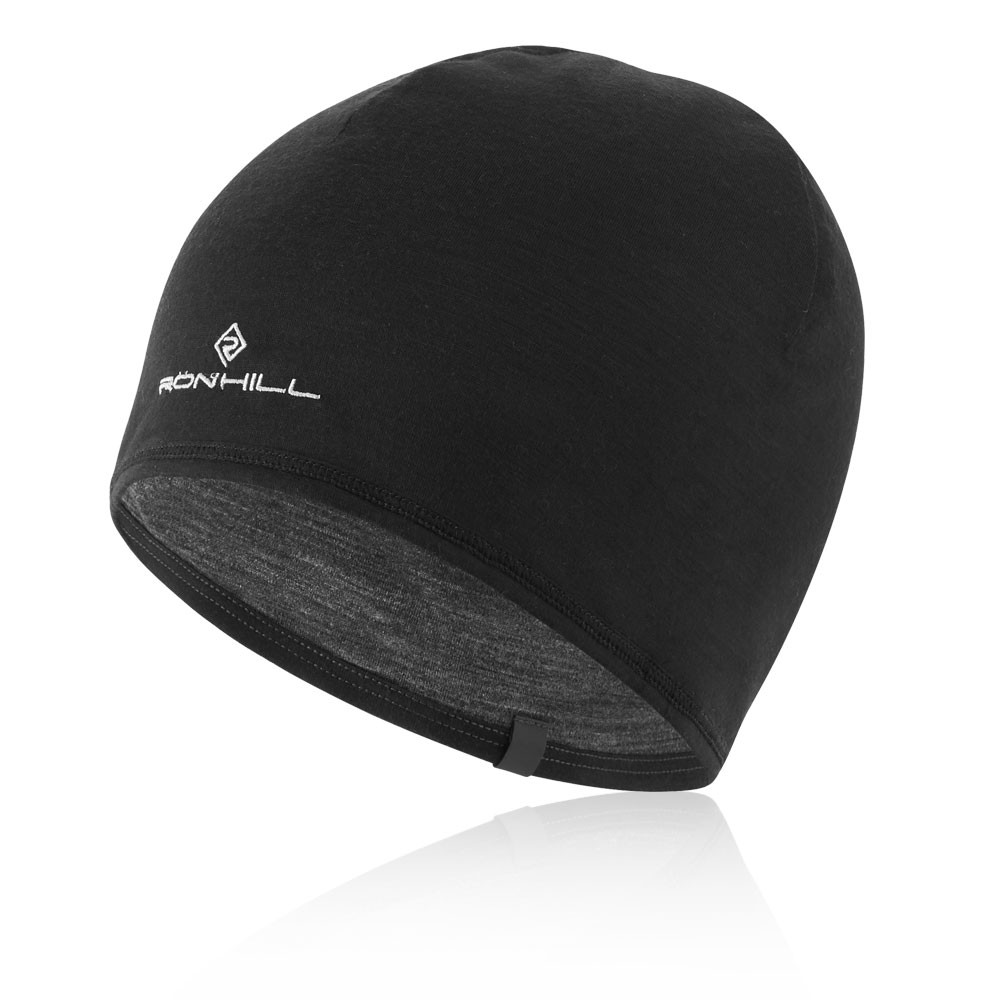 Huub Unisex Skull Cap Black Sports Warm Lightweight