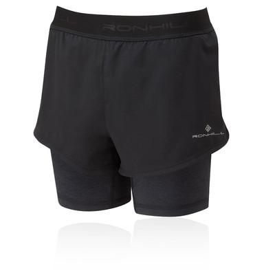 Ronhill Tech Damen Twin Shorts - AW20