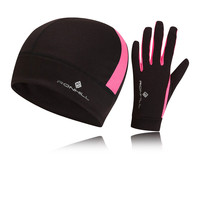 Ronhill Vizion Women's Beanie And Glove Set