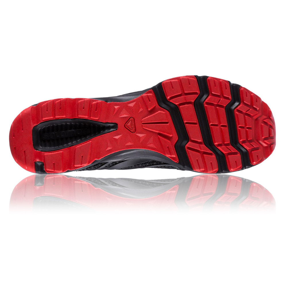 67803a8f8885 Salomon Crossamphibian Mens Red Black Walking Running Sandals Summer Shoes