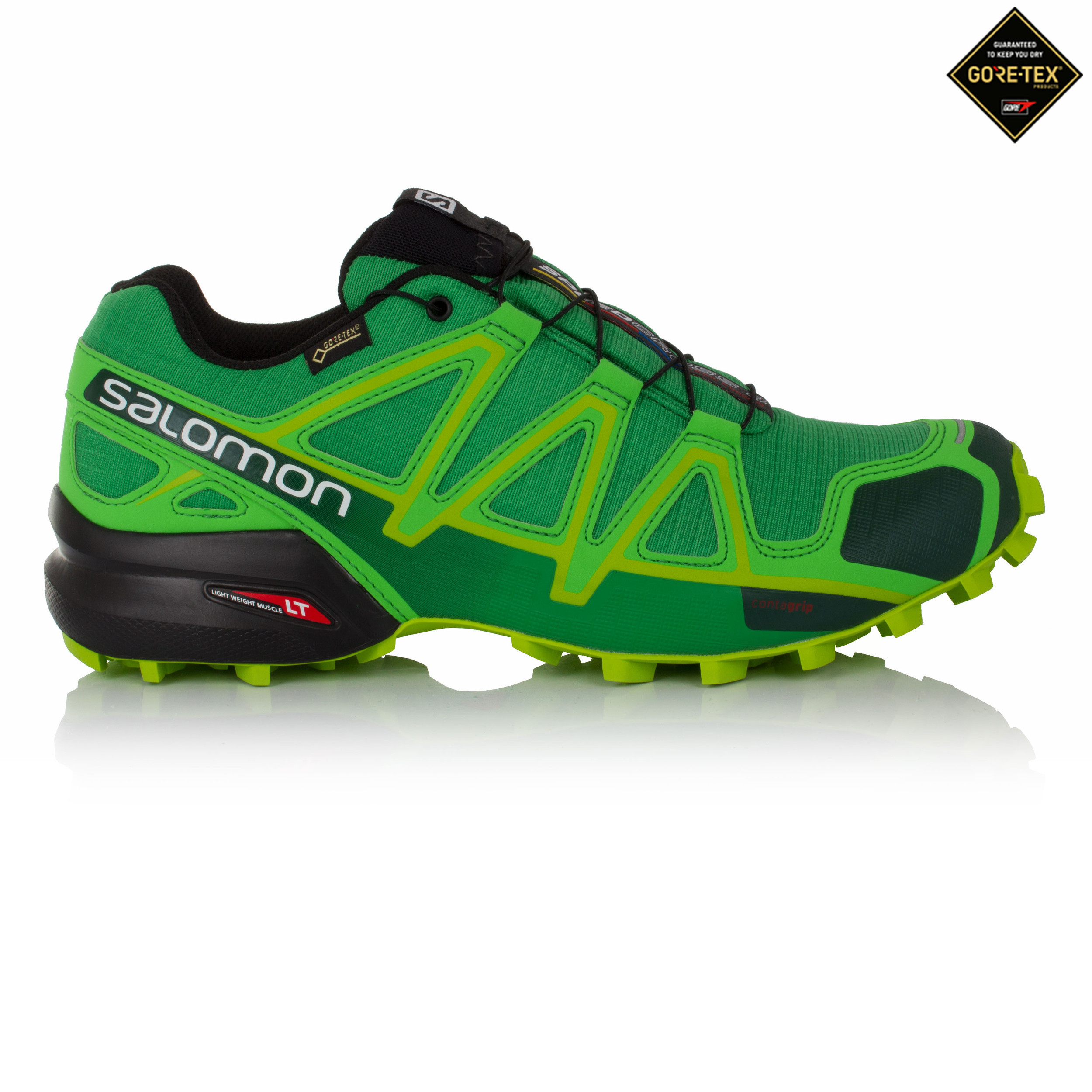 Zapatilla Speedcross 4 Verde Salomon