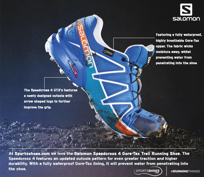 Salomon Speedcross 4 Gore-Tex Trail Running Shoes - AW17 ...