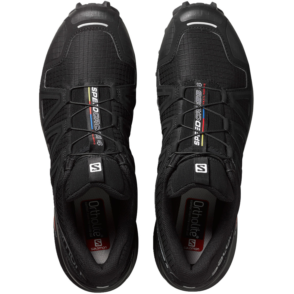 Resistant Speedcross Salomon Water Trainers Black Details Running 4 Shoes Mens About Yby6gvf7