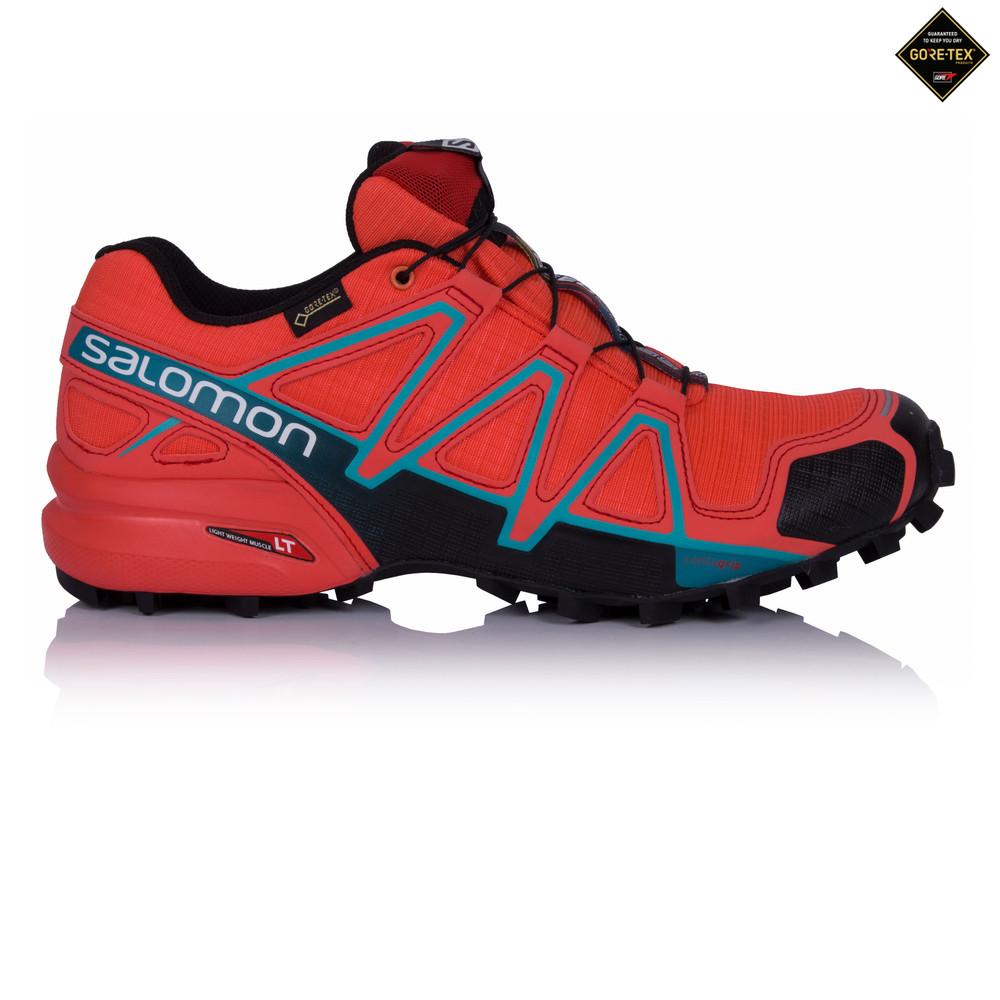 Salomon Speedcross 4 Gore-Tex femmes chaussures de trail 62b0a713852