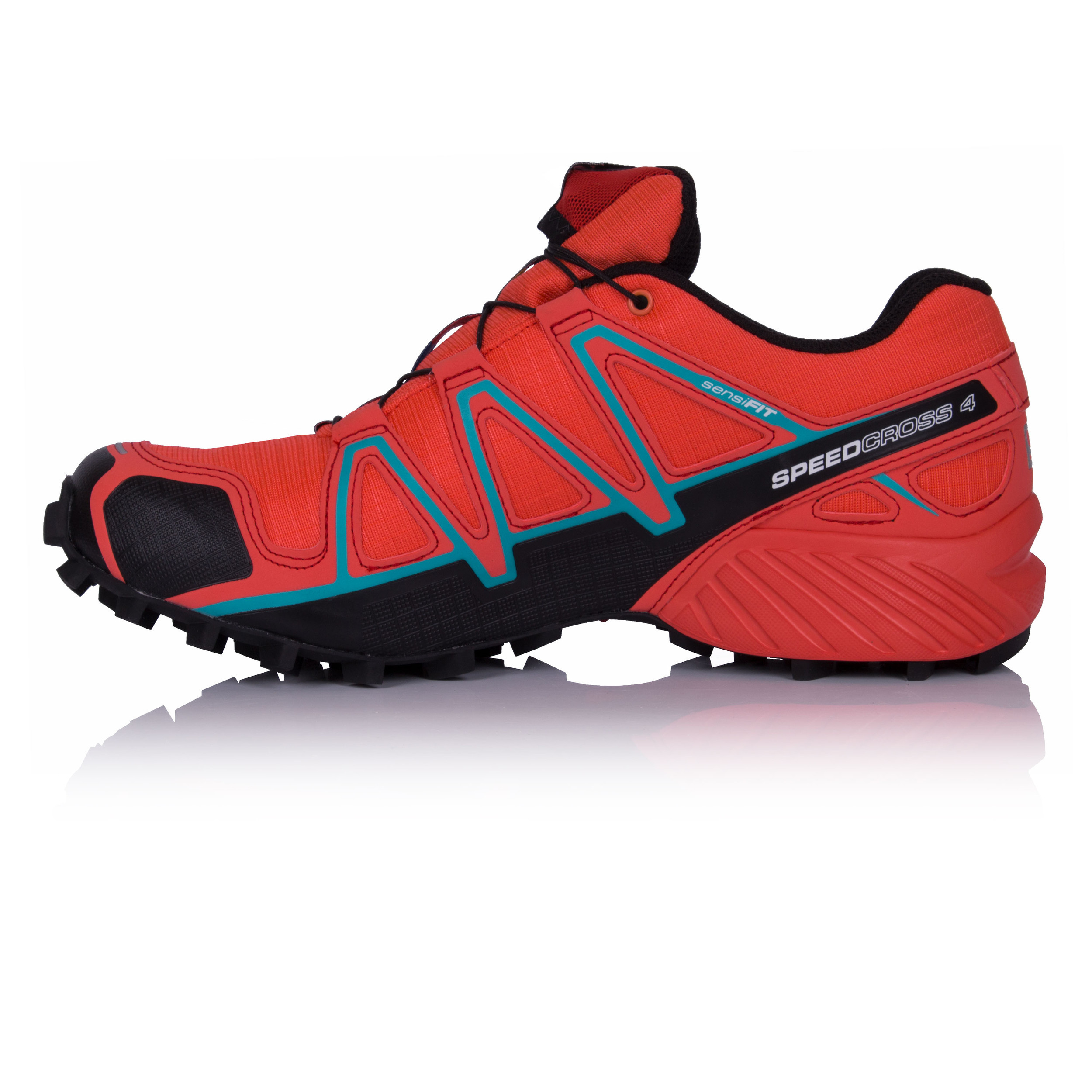 Salomon Speedcross Waterproof 4 Gore Tex Damenschuhe ROT Waterproof Speedcross Trail Running Schuhes 997998