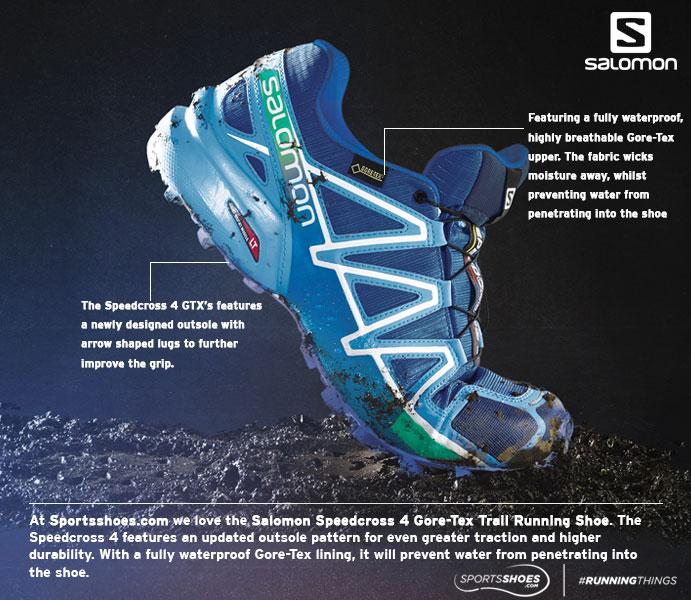 Salomon Speedcross 4 Gore-Tex Women's Trail Runnin