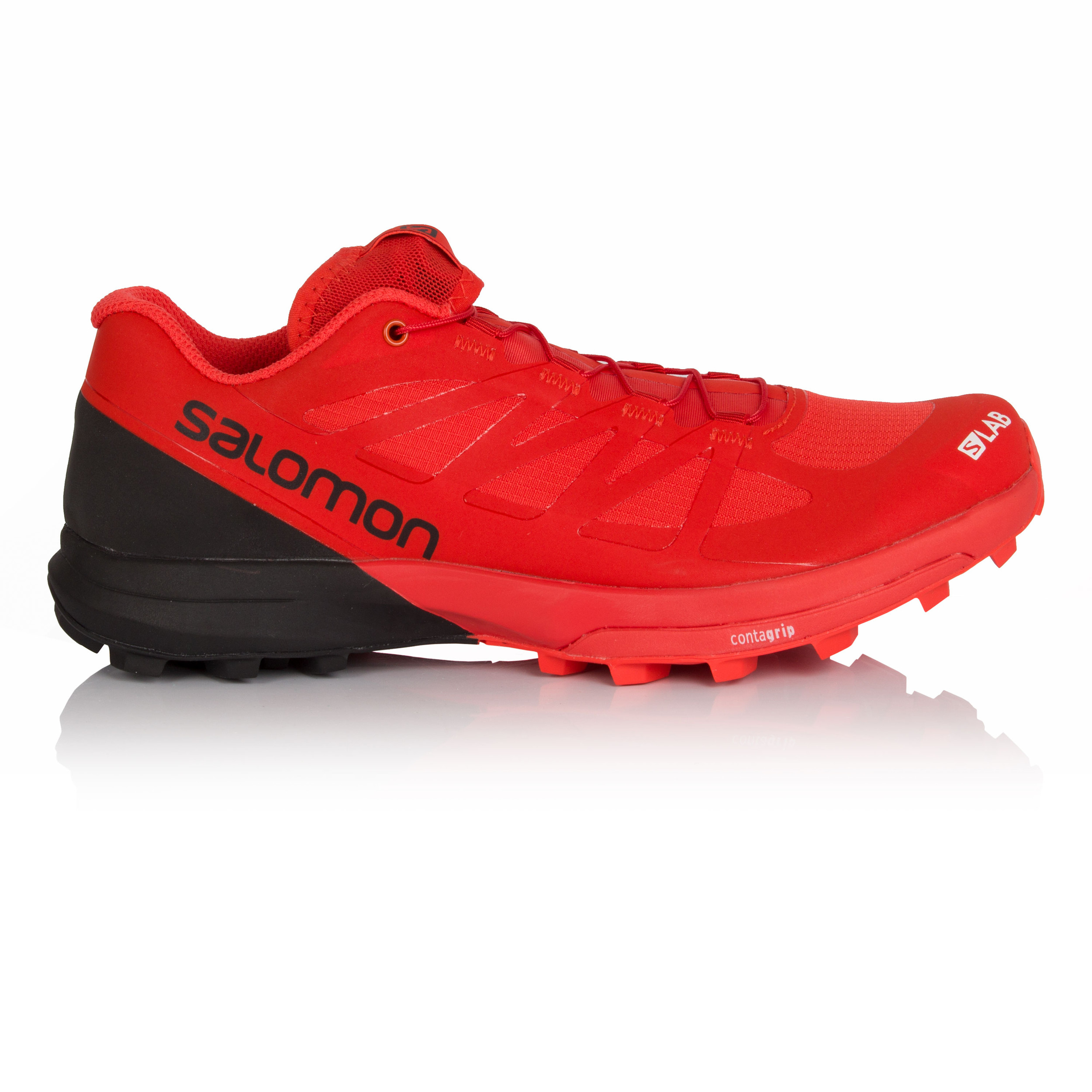 the best attitude 820a1 24682 Details about Salomon S-Lab Sense 6 SG Unisex Red Trail Running Training  Shoes Trainers
